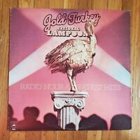 NATIONAL LAMPOON GOLD TURKEY GREATEST HITS Ex Vinyl Lp VG+ Record Cover 1975