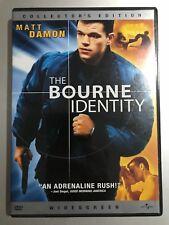 MATT DAMON BOURNE IDENTITY ~ 2002 ROBERT LUDLUM Acción Thriller US R1 DVD
