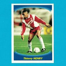 HENRY - STICKER FOOTBALL PANINI SUPER FOOT 1997-1998 - MONACO - VERY RARE