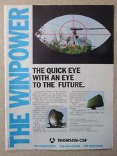 8/1987 PUB THOMSON-CSF GERFAUT GRIFFON RADAR SHORADS GAZELLE HELICOPTER AD