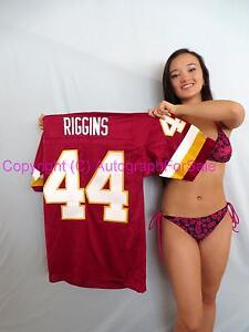 John Riggins Washington Redskins authentic Champion stitched burgundy jersey NEW
