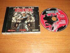 Resident Evil 1 con manual de papel PC-CD v.g.c. Rápido Post