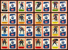 1982-83 Post Cereal Edmonton Oilers Wayne Gretzky NHL Hockey Mini Card Set of 16