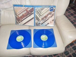 THE BEATLES DOUBLE ALBUM 1967-'70 GREATEST HITS ON BLUE VINYL PERFECT PLAYBACK