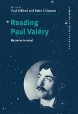 Reading Paul Valéry : Universe in Mind 58 (1999, Hardcover)