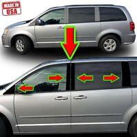 Black Pillar Trim for Chrysler Town & Country/Dodge Grand Caravan 08-16 10pc