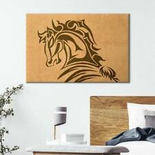 Wall26 - Horse Pattern on Vintage Background Gallery - CVS - 12x18 inches