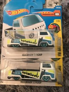 Hotwheels Volkswagen T2 Pickup In Short And Long Card Rare