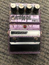 DOD GRUNGE FX 69 Guitar Effect Pedal Nirvana Original 90's Crackle Paint Box USA