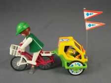 Playmobil 3068 Bicycle Bike with Trailer