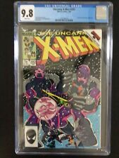 CGC 9.8 Uncanny X-Men 202 White Pages - Free Shipping