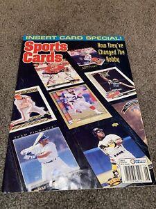 Sports Cards Magazine June 1993 w/ Baseball card insert sheet 1968 look