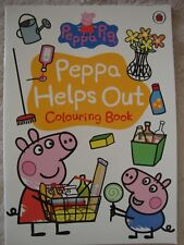 Peppa Pig Colouring Book Peppa Helps Out Colouring Book Brand New RRP £3.99
