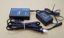 #S2B22 THE MOXA GROUP NPORT-6110 USPP NPORT6110 & AC Adapter