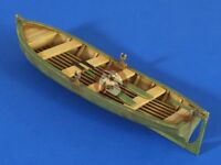 Verlinden 1/35 Large Row Boat with Oars (16cm x 5cm) [Resin Diorama Model] 2609