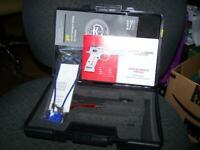 Sar Arms CM9 Sarsilmaz Pistol Case Factory Foam Lined w/ manual tools lock  mint