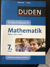 Duden Schülerhilfe Mathematik 7. Klasse mit Übungen und Testaufgaben, neu