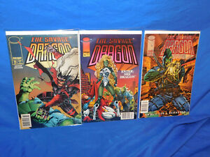 Savage Dragon #11 12 13 Lot Newsstand UPC Variant (2nd Series) Rare! FN