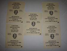 5 Vietnam War VC Propaganda Leaflets Against US Special Forces DE-OPPRESSO LIBER