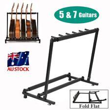 5/7 Guitar Stand Multiple Instrument Display Rack Folding Padded Organizer JY