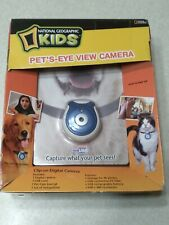 Pets Eye View Camera National Geographic Kids New Clip On Digital Camera
