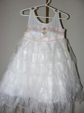 Disney Store Tinkerbell White Costume Dress Size XS 4