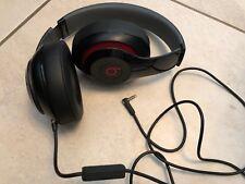 Casque Beats Studio 2 Noir et raynures rouge