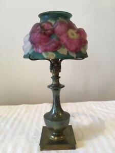 Pairpoint puffy mini rose lamp