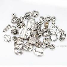 Hot sale 50g (About 90pcs) Mixed Tibet Silver Beads Spacer For Jewelry making