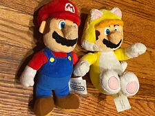 (2) Super Mario Brothers Plush Doll Stuffed Animal Figure Toys