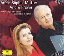 Mutter - Previn  -  Violin Concert - CD