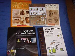 Logo Design and Visual Creativity Book Bundle Plus More
