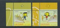 Lithuania - 2010, Europa, Children's Books set + Margins - MNH - SG 1001/2