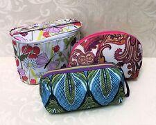 3 Unused Cosmetic Make Up Cases or Travel Bags, Clinique & Estee Lauder
