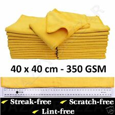 8 Microfibre Cleaning Cloth Towel Large Size for Car & Home Thick & Ultra soft