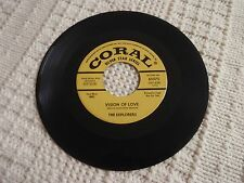 DOOWOP GROUP  EXPLORERS VISION OF LOVE/DON'T BE A FOOL CORAL 65575 SILVER STAR