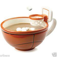 Basketball Mug, Basketball Hoop Glass, Soup Mugs With Handles, Soup Bowl Mug