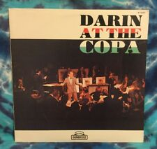 Bobby Darin  LP  Darin At The Copa  BAINBRIDGE BT-6220  Rare  (1960 Pressing)