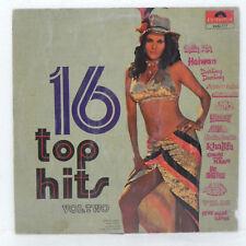 16 Top Hits LP Vinyl Record Hindi 1976 Original Soundtrack Bollywood Indian EX