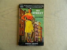 The Street by Ann Perry, Harlem African American Interest, Signet 1st, 1949