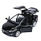 1:32 Tesla Model X 90D Model Car Diecast Toy Vehicle Kids Gift Collection Black
