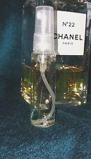 RARE~ Les Exclusifs de Chanel No.22  EDC  9 ml XXL sample/travel/purse refill