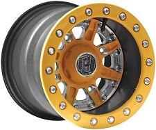 Hiper Wheel Sidewinder Wheel - 14x10 - 5+5 Offset - 4/136,4/137 - Yellow