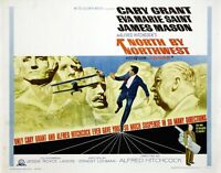 North By Northwest movie poster print : 12 x 16 inches : Cary Grant, Hitchcock
