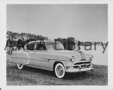 1953 Pontiac Chieftan Deluxe 4 DR Sedan, Factory Photo / Picture (Ref. #69038)