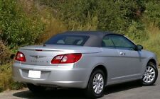 2007-2011 NEW Chrysler Sebring Convertible Soft Top Black Sailcloth Vinyl