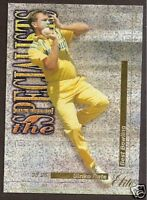FUTERA 1995/96 CRICKET CRAIG McDERMOTT SPECIALISTS No13 # 2343