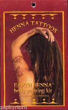 Lakaye Studio - Earth Henna Body Painting Kit Mini - 1 kit - Temporary Tattoos