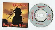 Eddy Grant 3-INCH-CD-Maxi Baby come back © 1989 EMI 2-track # CDP 560-20 3418 3