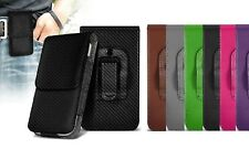 Universal Vertical Leather Belt Pouch Case Cover for Sony Xperia L1